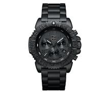 Navy SEAL Steel Colormark Herren-Armbanduhr Chronograph Quarz Edelstahl - XS.3182.BO