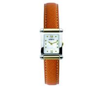 Antares Women' Damen Armbanduhr Analog Leder braun/T19MA 17049