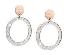 Damen-Ohrringe SOLEIL Bronze mit Glam Film BSOOBB03