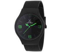 Unisex-Armbanduhr Analog Edelstahl MH04BK