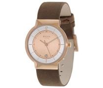Boccia Damen-Armbanduhr Analog Quarz Leder 3123-12