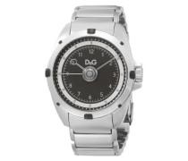 D&G Dolce&Gabbana Herren-Armbanduhr Analog Quarz Edelstahl DW0608