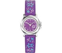 Unisex-Armbanduhr 647568 Analog Quarz Violett 647568
