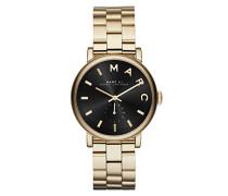 Marc Jacobs Damen-Armbanduhr Analog Quarz Edelstahl MBM3355