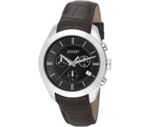 Herren-Armbanduhr XL Aspire Chronograph Quarz Leder JP101042F06