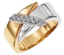 Damen-Ring vergoldet 54 (17.2) D23011Z54