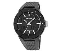 Calypso watches Herren-Armbanduhr XL K5629 Analog Quarz Plastik K5629/1