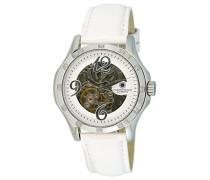 Damen-Armbanduhr Prelude Analog Automatik Leder CD-PREL-AT-LTWH-STST-WHD