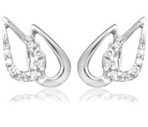 (MIO) Ohrringe 18 Karat (750) Weißgold 1.05 cm M0815