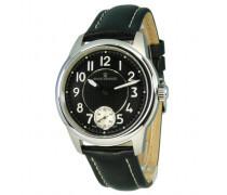 Herren-Armbanduhr XL Analog Handaufzug Leder 16064.3531