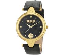 Versus  Damen -Armbanduhr  Analog  Quarz Leder SCI110016