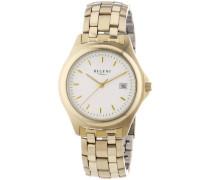 Regent Herren-Armbanduhr XL Analog Quarz Edelstahl beschichtet 11140089