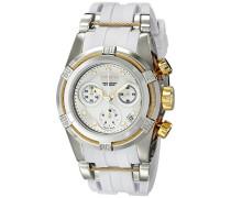 Damen-Armbanduhr Bolt Chronograph Quarz Edelstahl beschichtet 15279