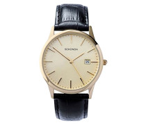 Herren-Armbanduhr analog quarz 3697.27