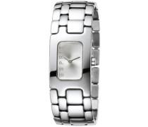 Damenarmbanduhr organic silver houston ES101942002