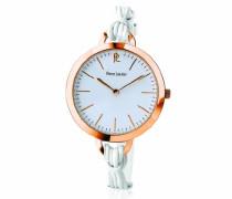 Damen-Armbanduhr Tendance Analog Quarz Leder 115L900