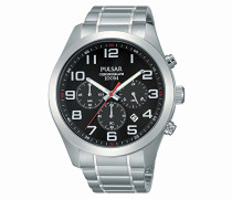 Herren-Armbanduhr XL Sport Chronograph Quarz Edelstahl PT3661X1