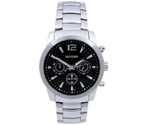 Herren-Armbanduhr Analog Quarz Edelstahl 92-0063-504