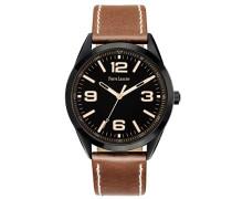 Herren-Armbanduhr Analog Quarz Braun 212D439