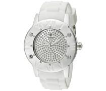 Damen-Armbanduhr XL Analog Quarz Silikon BM165-516