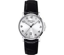 Certina Herren-Armbanduhr XL Analog Quarz Leder C017.410.16.032.00