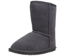 Emu Wallaby Lo,Unisex - Kinder Stiefel, Grau (Charcoal), 28 EU  (10 UK)