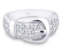 Damen-Ring Klassik  and the City 925 Sterling Silber