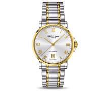 Certina Herren-Armbanduhr XL Analog Automatik Edelstahl C017.407.22.033.00