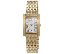 Damen-Armbanduhr Analog Quarz Edelstahl beschichtet 12210949