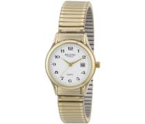 Damen-Armbanduhr XS Analog Edelstahl beschichtet 12300076
