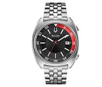 unisex-Armbanduhr Snorkel Analog Quarz Edelstahl 96B210