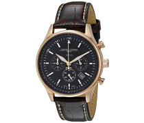 Damen Armbanduhren Chronograph Quarz Edelstahl JG6500-22