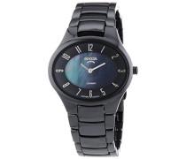 Keramic Titan Damen Uhr Schwarz 3216-02