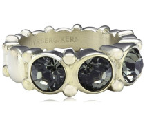 Damen-Ring Vergoldetes Metall Acara III sg grey