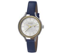 ! Damen-Armbanduhr Jessica Analog Quarz Leder JP101762006
