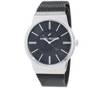 Damen-Armbanduhr Analog Quarz Edelstahl DHD 001-AM