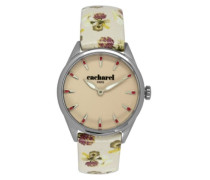 Damen-Armbanduhr Analog Quarz Leder CLD 012/XX