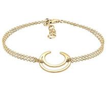 Damen-Armband Halbmond 925 silber 17 cm 0206332116_17