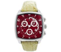Herren-Armbanduhr Analog Quarz Leder 0262RWE