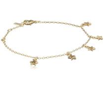 Damen-Armband Vergoldet mattiert 18.5 cm - 601712042