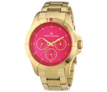 Damen-Armbanduhr Analog Quarz Edelstahl beschichtet 5412202