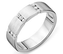 Miore Damen 925 Sterling Silber Hochzeitsring mit Zirkonia