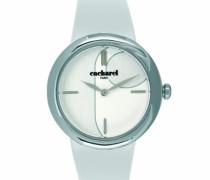 Cacharel Damen-Armbanduhr Analog Quarz Leder CLD 003-BB