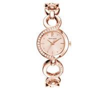 Damen-Armbanduhr 104J999 Analog Metall Rosa