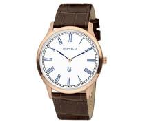 Herren-Armbanduhr Lavardin Analog Quarz Leder 61600