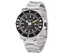 Herren-Armbanduhr Analog edelstahl Silber JG9500-22