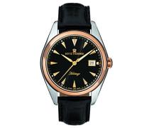Herren-Armbanduhr HERITAGE Analog Automatik Leder 21010.2557