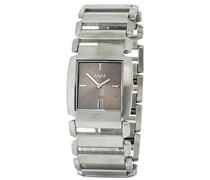 M&M Damen-Armbanduhr Analog Quarz Edelstahl M11753-143