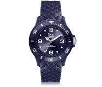 ICE sixty nine Twilight blue - Blaue Damenuhr mit Silikonarmband - 007270 (Small)
