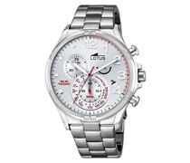 Herren-Armbanduhr Analog Quarz Edelstahl 10126/1